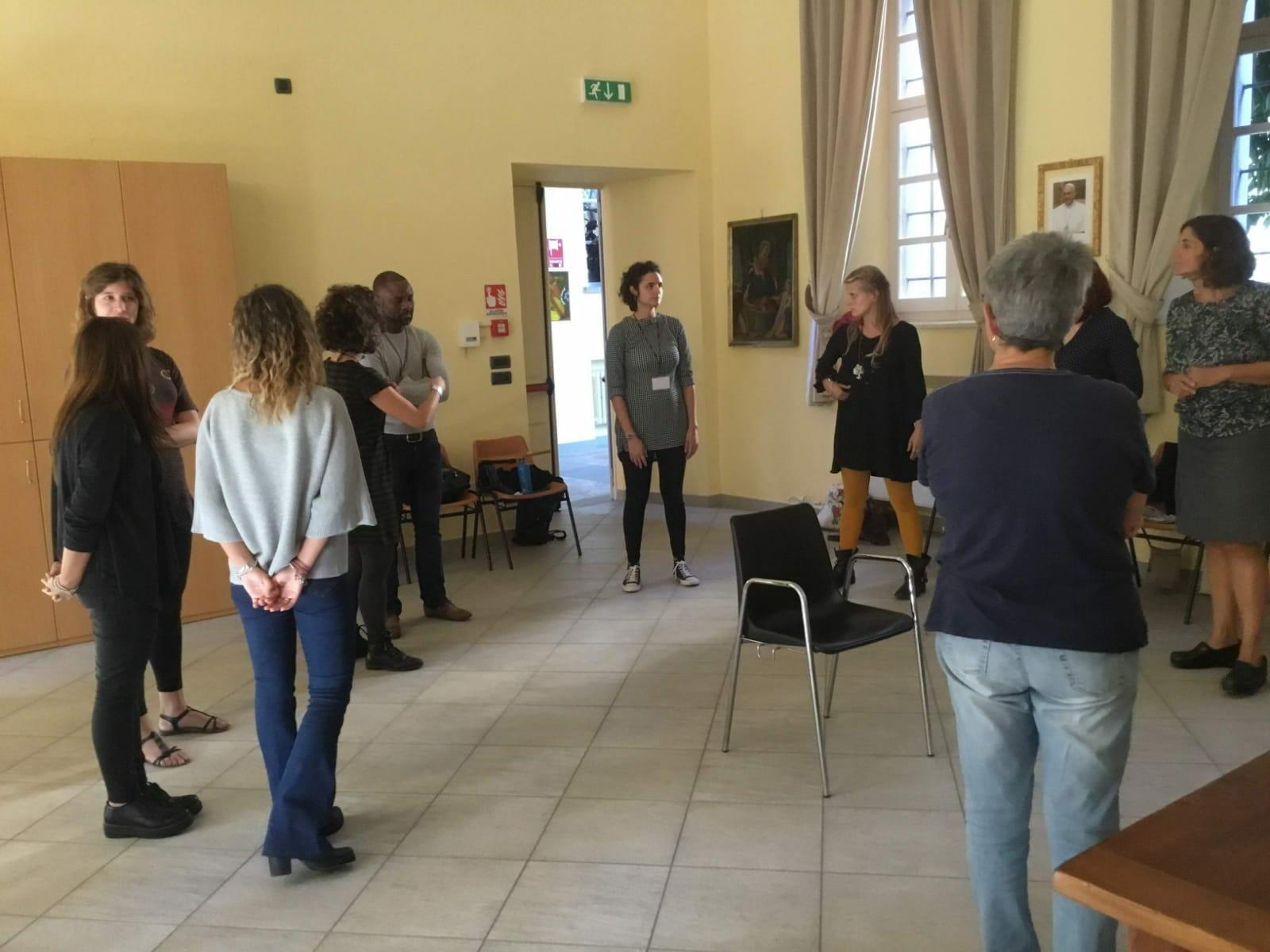 Seminario di Alba Teatro comunità con maria grazia Agricola