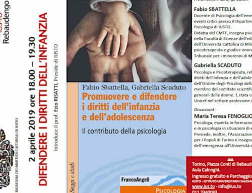 Difendere i Diritti dell'Infanzia – Il nuovo libro di Fabio Sbattella
