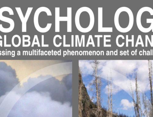 Giornata mondiale sul Clima – Il punto di vista Psicologico